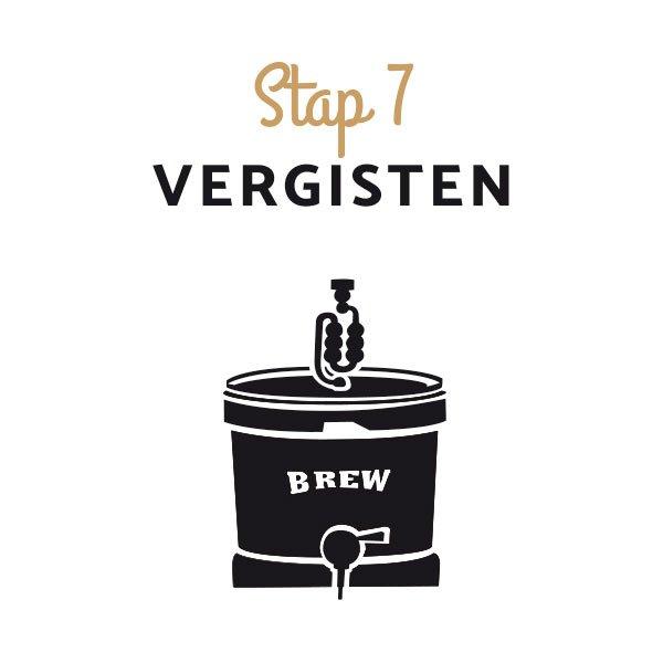 Zelf bier brouwen stap 7